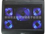 诺西T5 笔记本散热器 五个风扇 电脑散热架12至17寸散热垫底