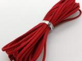 DIY韩国绒皮绳线带鹿皮绳超纤皮绳厂家批发