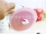 韩版卡通硅胶杯盖 **防漏杯盖 魔术盖 神奇盖 KT猫杯盖