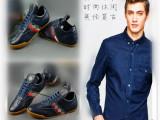 工厂直销 韩版休闲鞋经典头层软牛皮平底鞋子外贸英伦品牌男鞋