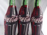 商家定制可乐瓶抱枕 各种仿生酒瓶化妆瓶袋抱枕