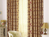 厂家直销 阳离子爆款窗帘布客厅批发面料双面提花遮光布欧式最低