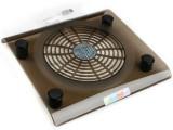 静音特价14寸笔记本散热器电脑散热器底座垫架 透明大风扇 蓝光