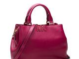 2014新款欧美M家手提包真皮女包简约时尚牛皮包通勤包单肩斜跨包