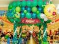 主营气球装饰、宝宝宴、寿宴、气模出租、婚庆设备等