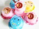 塑料卡通伸缩杯 折叠杯 茶杯 户外用 便携式饮水杯 促销韩版创意