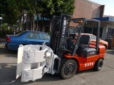 上海二手平夹抱叉车市场 合力3吨废纸夹包叉车价格