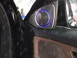广州白云奔驰S350改装原厂柏林之声音响 喇叭件套
