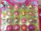 小女孩玩具16合1扭蛋机专用 Squinkies宠物精灵白雪公主