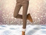 加绒加厚哈伦裤 韩版潮春季新款品牌女装显瘦弹力裤 长裤厂价批发
