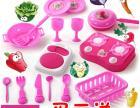 儿童益智玩具过家家玩具派丽丝厨房玩具15件套环保玩具