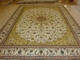 工厂直销手工真丝波斯地毯