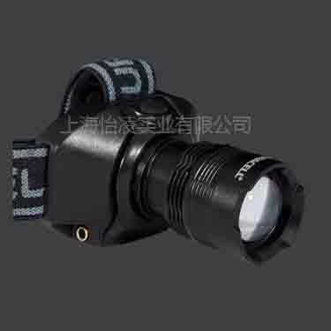 金霸王美国LED 铝合金头灯3W HDL-2C焦距可调 旋转