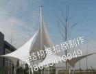 浙江省天俊推拉篷膜结构车棚大型仓库雨蓬活动雨棚