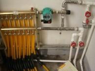 津南区双港地采暖清洗换分水器地暖管漏水检查