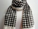 厂家直销适用于家纺装饰的5cm蛋挞型全棉棉线钩编花边(200码起