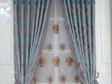 金轩家纺 厂家批发高档欧式雪尼尔染色色织提花窗帘布  厂家直销