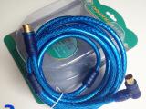 供应3米高清有线电视线 数字闭路射频线 RF机顶盒连接线 TV线