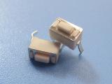 高品质插件插脚立式环保耐高温3*6*4.3进口方形弹片轻触开关