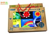 和乐族 宝宝布书 儿童书手掌书带响纸6套礼盒婴儿玩具 正品布书