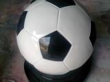 广州校园文化雕塑景观小品玻璃钢足球