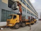漢陽10噸叉車,隨車吊長期出租,專業提供設備吊裝搬運移位