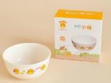 宝宝学习吃饭专用小鸡卡迪PP小碗 塑料小碗 汤碗微波炉适用KD4