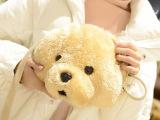 冬季新款女包卡通可爱包毛毛狗单肩包斜跨包卡通可爱女包冬款批发