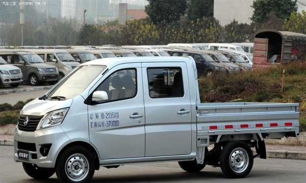 长安双排小货车搬家送货
