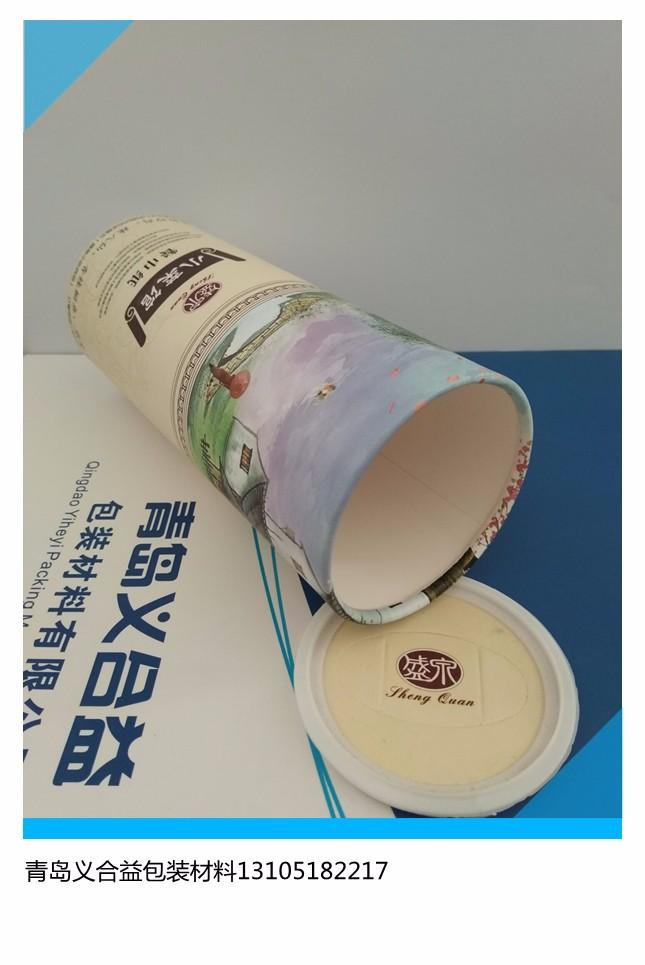直销餐巾纸纸罐 餐巾纸包装纸罐 青岛义合益餐巾纸纸罐厂家