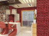 企业集采 立体3d仿砖墙纸 pvc仿砖壁纸  餐厅走道满铺大面积