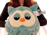 韩剧继承者们 毛绒玩具批发猫头鹰手暖抱枕/靠垫玩偶公仔生日礼物