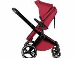 豪华婴儿推车两个妈妈可坐卧四轮避震宝宝推车中山厂家