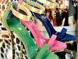 2014春季新款大码女鞋日韩甜美时尚高跟 进口羊皮 真皮凉鞋16