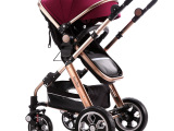 娇贝婴儿推车808a 冬夏减震折叠可坐躺婴儿车高景观推车宝宝童车