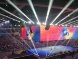 LED大屏投音仪电视机舞台桁架音响灯光租
