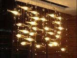 飞鱼吊灯酒店工程灯具 创意新款工程定制KTV 酒吧吊灯会所飞鱼灯