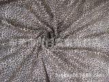 其他棉类面料 印花梭织布料 全棉豹纹花帆布