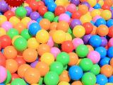十色 厂家批发加厚海洋球儿童游乐场玩具球