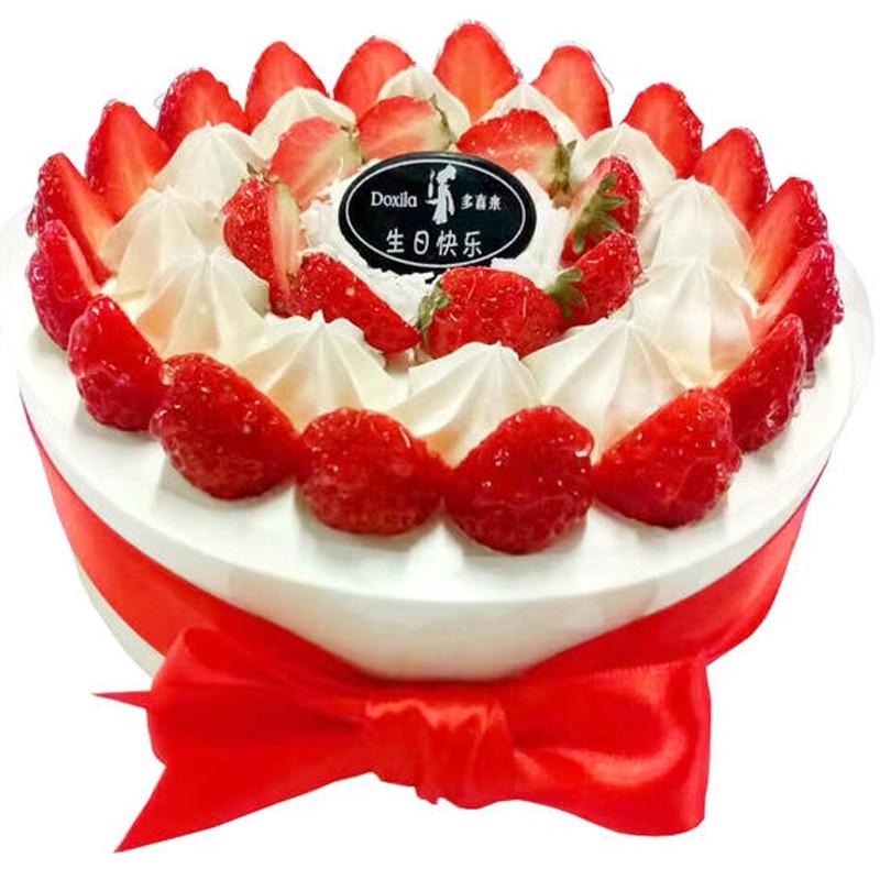 预定订购衡东多喜来生日蛋糕同城配送榴莲千层芒果慕斯芝士儿童