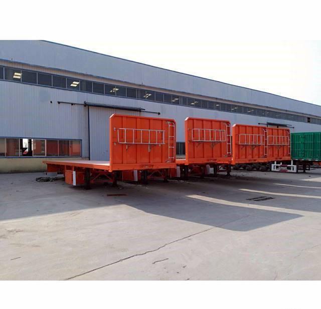 轻量化 8米/11米/13米/13.75米 平板半挂车