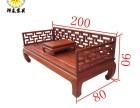 老榆木推拉床实木双人床多功能推拉床罗汉床实木家具定制