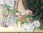 油画定制 郑州墙体彩绘手绘文化墙 酒店会所软装配画