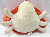 螃蟹毛绒玩具公仔 定做海洋动物填充公仔 螃蟹海底世界玩偶