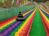 南京滑道制作 网红七彩滑道出租 彩虹滑道租赁 七彩滑道制作