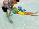 0~6岁宝宝水域安全技能培训 奥申早教游泳俱乐部