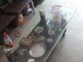 一套九成新沙发加一米二的茶几300块,自取