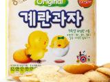 韩国进口食品批发 海太儿童鸡蛋饼干 宝宝饼干 45g*20盒/箱