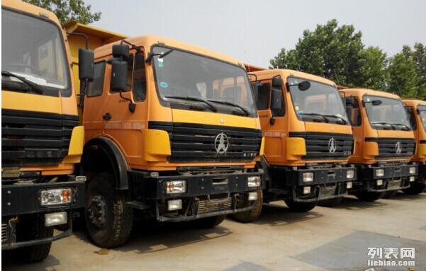 出售j6豪沃欧曼红岩前四后八 后八轮自卸各种牵引车头