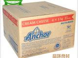 安佳奶油奶酪5kg*4 忌廉芝士 新西兰